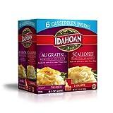 6 gratin dish - Idahoan Au Gratin and Scalloped Potato Homestyle Casserole, 6 pk. AS