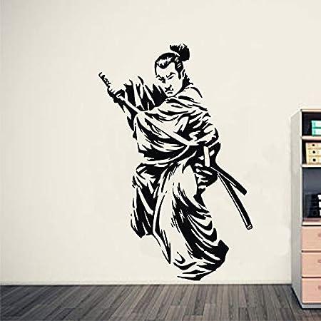 mmzki Kendo Sticker Samurai Calcomanía Japón Ninja Poster ...