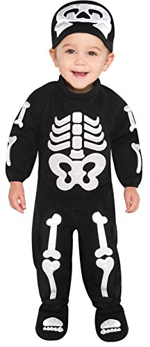 Infant Sized Bitty Bones Costume 6-12 Months