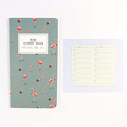 Amazon.com : Golden Store129 Student Planner Cute Mini ...