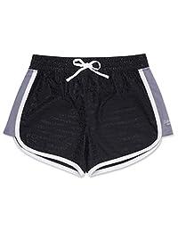 Calvin Klein Big Girl'S Performance Pantalones Cortos para niña