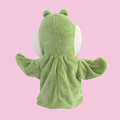 loinhgeo-Cute Cartoon Alligator Crocodile Kids Hand Puppet Soft Doll Stuffed Plush Toy: Toys & Games