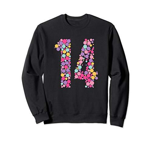 14 Years Old 14th Birthday Cool Gift Idea Sweatshirt]()