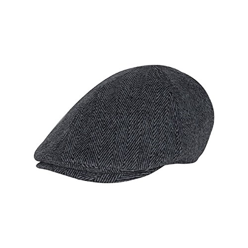 Hats & Caps Shop INIFITY SELECTIONS HERRINGBONE IVY CAP - By TheTargetBuys | (Lrg New Era)