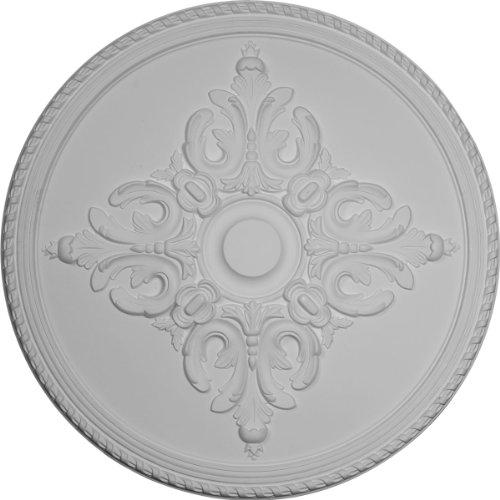 Ekena Millwork CM38OL Ceiling Medallion, Primed