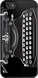 SUUER Vintage Typewriter Custom Hard CASE for iPhone 5 5s Durable Case Cover