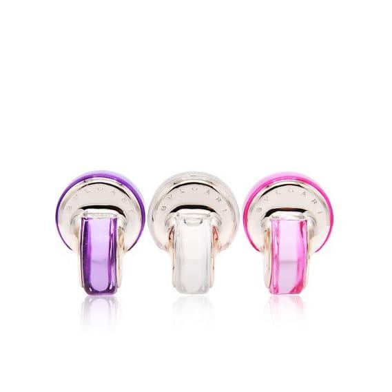 Bvlgari Omnia Collection EDT Kit (Omnia Crystalline + Omnia Pink Sapphire + Omnia Amethyste) 5ml x 3