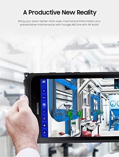 "Samsung Unlocked Galaxy Tab Active2 Water-Resistant 8"" Rugged Tablet |16GB & LTE | Biometric Security (SM-T397UZKAXAA), Black 41JGODNlpFL"