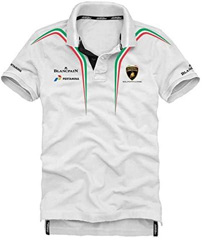 Automobili Lamborghini Squadra Corse Polo Hombre: Amazon.es: Ropa ...