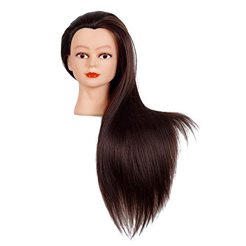 Cosmetology Mannequin Synthetic Adjustable Hairdressing