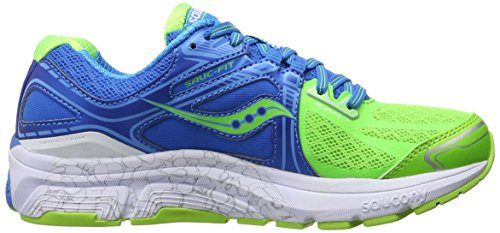 cheap sale marketable Saucony Women's Omni 15 Running Shoe Blue/Slime discount newest discount outlet cheap sale clearance clearance outlet SaJ3CcFb