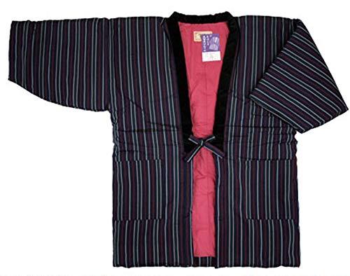 여성용 한텐 LL 구루메 겉옷 큰 사이즈 일본제(MADE IN JAPAN) 포화리(사뿐히) 일본 방한복