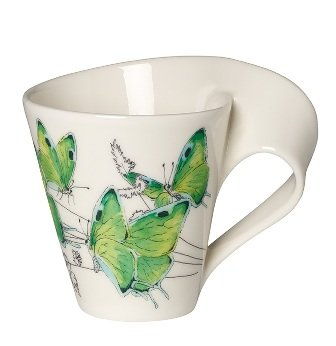 Villeroy and Boch New Wave Cafe Deep Green Hairstreak Mug