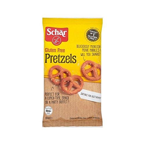 Schar Gluten Free Pretzels 60g - (Pack of 6)