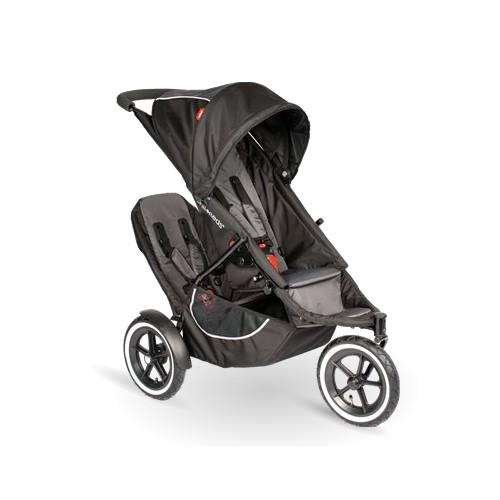 - phil&teds Classic Stroller with Second Seat, Black
