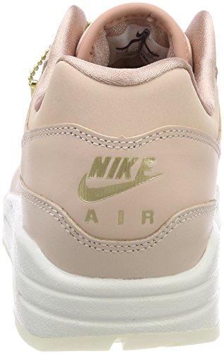 Nike Vrouwen Air Max 1 Prm Hardloopschoen Partiële Beige / Partiële Beige