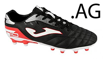 25909fe1de1 Image Unavailable. Image not available for. Color: Joma Numero 10 701 Black/ Red Turf Soccer Cleats ...
