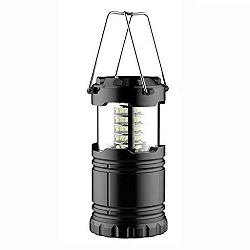 Hiking Lamp,Muranba 1PC Outdoor Bright Collapsible 30 Led Lightweight Camping Light]()