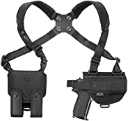 CZ 75 SP-01 - Shadow Target II Compatible Holster - Nylon Shoulder Holster - Craft Holsters (D701/22)