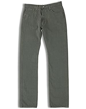 Men's 501 Original-Fit Jean, Beluga Garment Dye, 32W x 36L