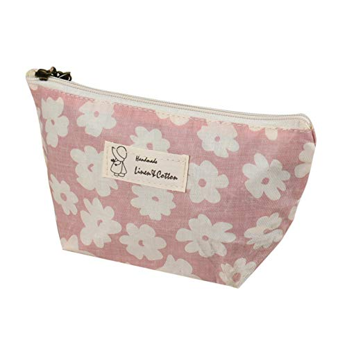 Fan-Ling Fashion Multifunction Portable Travel Cosmetic Bag, Makeup Case Pouch Toiletry Wash Organizer For Women Girl (pink)