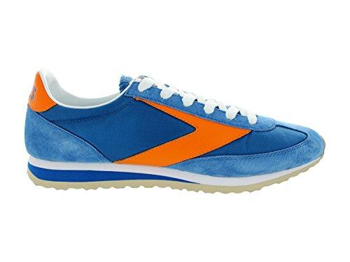 Brooks Mens Vanguard Royal Blue / Classic Orange Running Shoe 12 Men Us