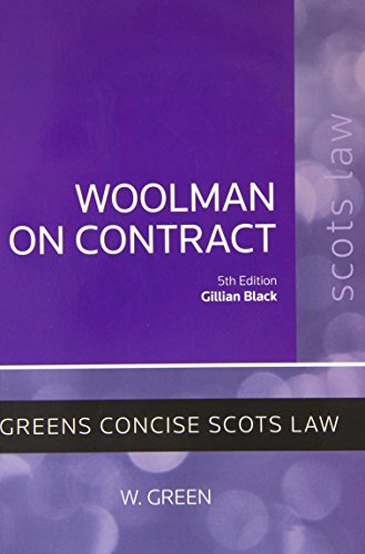 [E.B.O.O.K] Woolman on Contract PDF