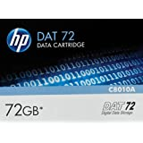 HP DAT Data Cartridge -DAT -36 GB (Native)/72 GB (Compressed) -557.74 ft Tape Length -1 Pack