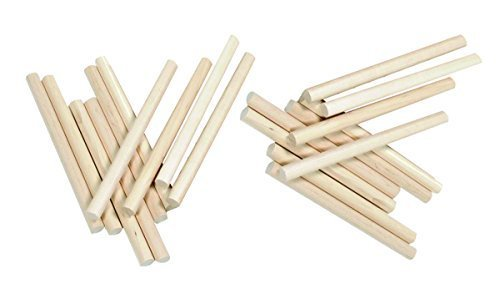 Maple 12 String - Maple Wood 10 inch Lummi Sticks Set (12 sticks; Age 3+)