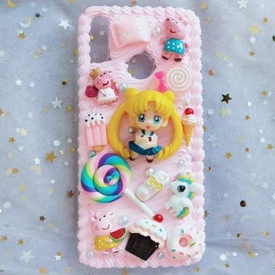 Amazon.com: Funda para iPhone X/XS XS Max DIY 3D Sailor Moon ...