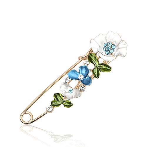 Chili Jewelry Fashion Flower Brooch and Pins for Women Girls Brooches Lapel Pin Corsages Scarf Clips Wedding - Vintage Clip Trifari