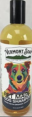 Vermont Soap Organics -Certified Organic - Pet Shampoo 16oz from Vermont Soap Organics