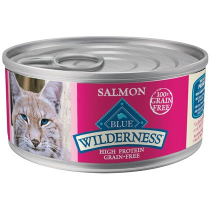 Blue Buffalo Wilderness Salmon - 24 - 5.5 oz. Cans by Blue Buffalo
