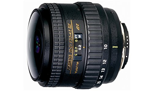 Tokina 10-17mm F/3.5-4.5 DX Autofocus Fisheye Zoom Lens for Canon EOS Digital SLR Cameras Without Hood (Tokina 10 17mm Fisheye Lens For Canon)