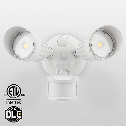 Pir Motion Activated 8 Led White Light