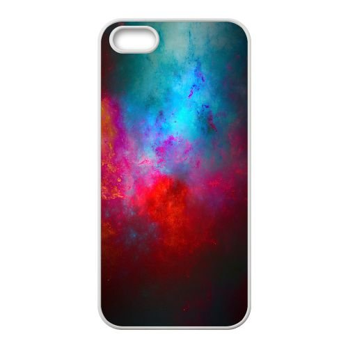 Multicolored Starcluster 33 3 coque iPhone 4 4S Housse Blanc téléphone portable couverture de cas coque EOKXLKNBC23701