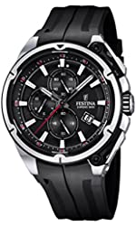 Festina F16882-4 Mens 2015 Chrono Bike Tour De France Black Watch