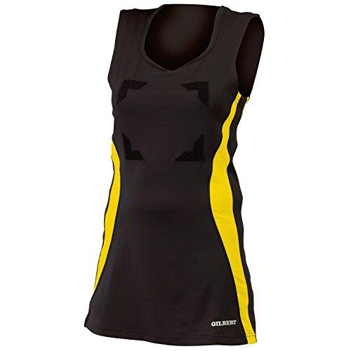 Gilbert Rundhalsausschnitt Netball mit Marineblau Eclipse Sportkleid Damen Hellblau Kleid YrqRY7