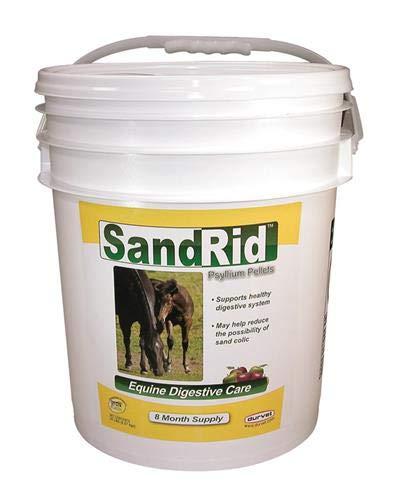 (Durvet/Equine 699629 Sandrid Psyllium Pellets for Equine, 20 lb )