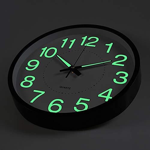 OCEST Wall Clock, 10 Inch Silent Non-Ticking Quartz Wall Clo