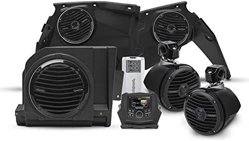 Rockford Fosgate Can Am X3-STAGE4 オーディオラジオキット オプションPMX-3アップグレード PMX-3 Head Unit X3-STAGE4