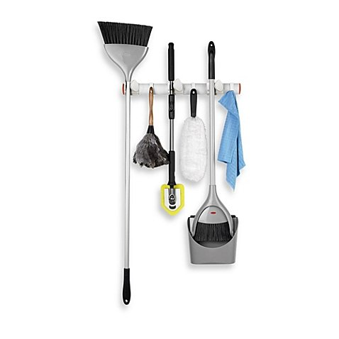 Oxo Good Grips® Expandable Wall Mount Organizer Securely Hold Long-handled Products