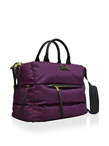 adrienne-vittadini-versailles-collection-quilted-duffle-18l-x-14w-x-8d-purple