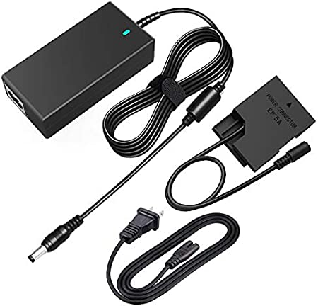 EP-5A Plus EH-5 EH-5A AC Power Charger Kit Camera Adapter for Nikon Coolpix D3100,D3200,D3300,D5100,D5200,D5300,D5500,Df,P7000,P7100,P7700,D7800 Digital Cameras