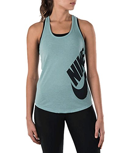 Nike Tank-Futura Racer - Camiseta de tirantes para mujer Cannon/Seaweed