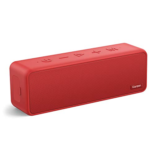 Bluetooth Speakers - Vanzon X5 Pro Portable Wireless Speaker V5.0 with 20W Loud Stereo Sound, TWS, 24H Playtime & IPX7 Waterproof, Suitable for Travel, Home and Outdoors