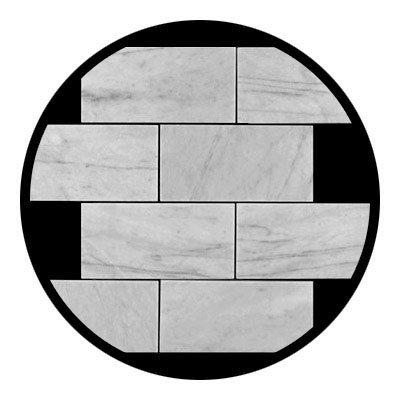 Tile Stone Subway (Carrara Marble Italian White Bianco Carrera 6x12 Marble Subway Tile Honed)