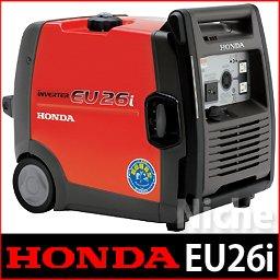 ホンダ発電機 2.6kVA インバータ発電機[50Hz/60Hz切替式] EU26i
