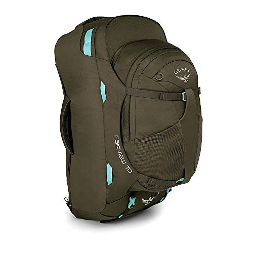 Osprey Packs Fairview 70 Women's Travel Backpack, Misty Grey, Small/Medium