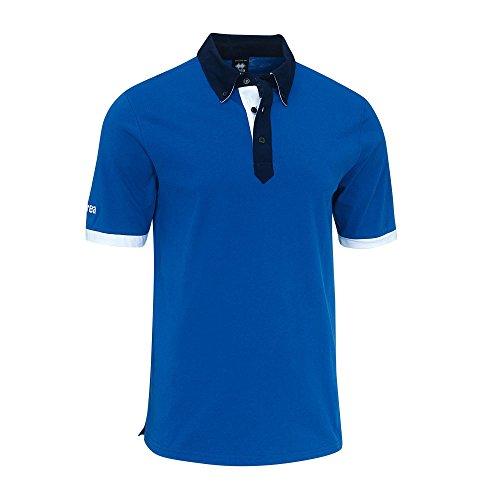 Errea Polo Shirt COLBY hellblau blau weiß